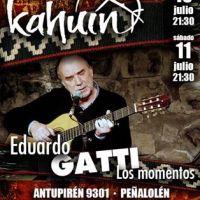 PEÑALOLÉN: VIERNES 10 Y SÁBADO 11 DE JULIO DE 2015 - EDUARDO GATTI