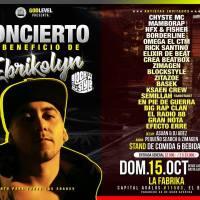 domingo 15 de octubre de 2017: CONCIERTO A BENEFICIO DE EBRIKOLYN en LA FABRIKA
